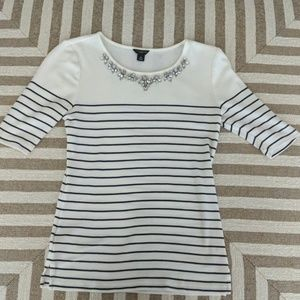 ⚡3/$30⚡ Ann Taylor Stripe Top